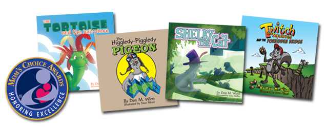 picture book selection covers montage MCA