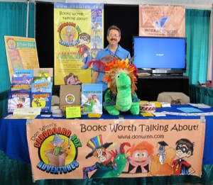 Table at Texas Book Festival