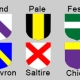 Very Basic Heraldry Part Three – Ordinaries
