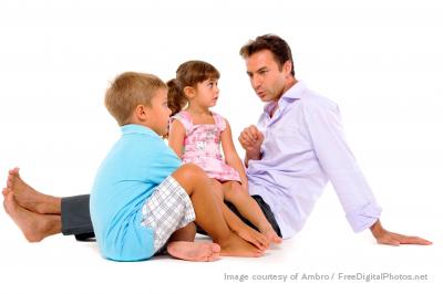 dad telling stories