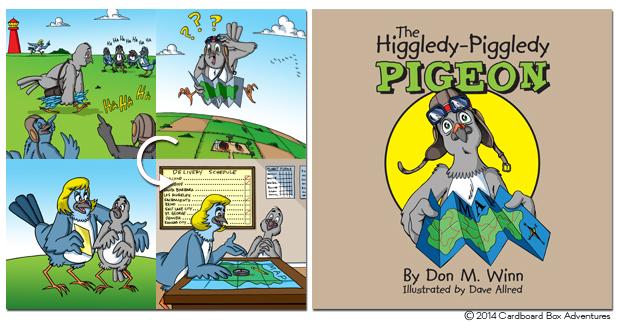 higgledy piggledy pigeon graphic