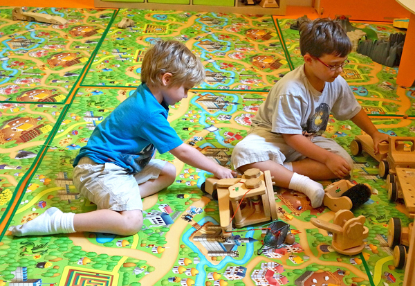 GT-kids in play area