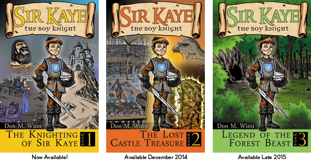 Sir Kaye the Boy Knight Series