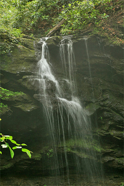 appalachian waterfall