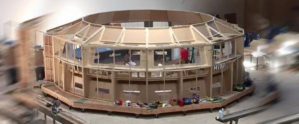 Axanar Set Under Construction
