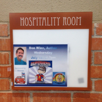 don winn welcome sign