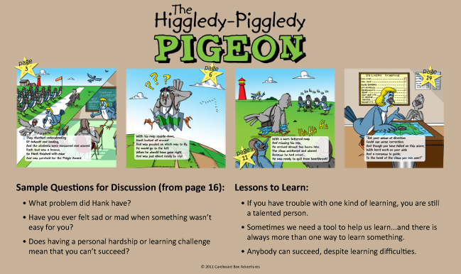 the higgledy piggledy pigeon preview