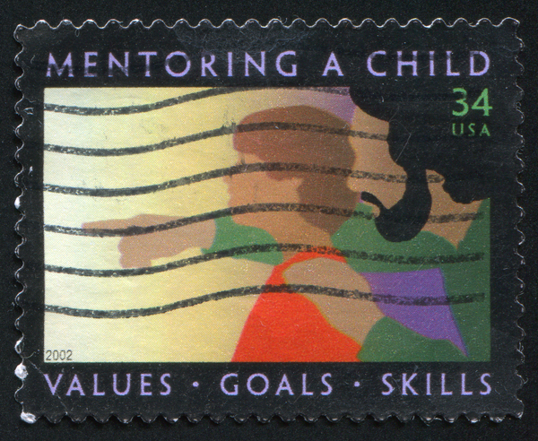 Mentoring a Child stamp small