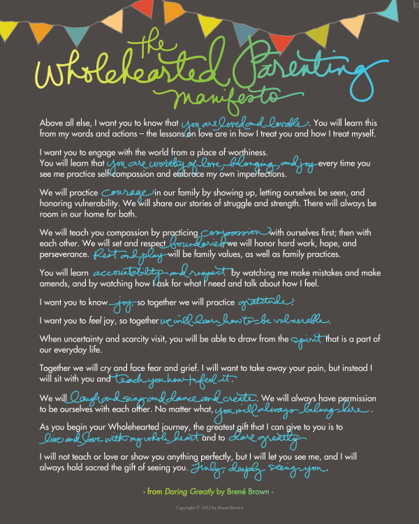 DaringGreatly-ParentingManifesto2-16x20
