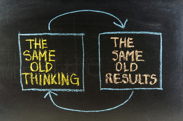 Same Thinking Same Results small