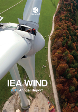 IEA Wind 2016 Annual Report image