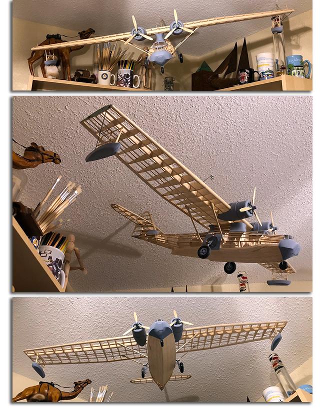 model airplane series