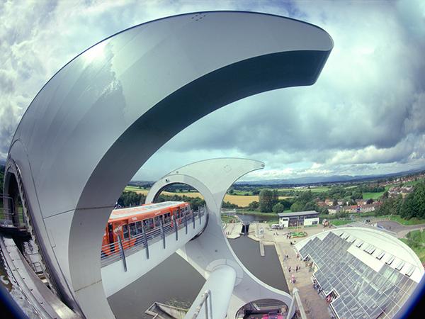 Dream Big - Falkirk Wheel From Side
