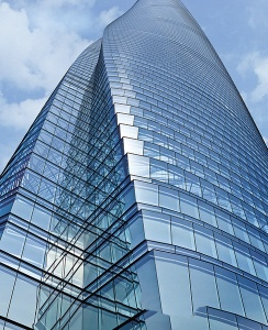Twisting Shanghai Tower
